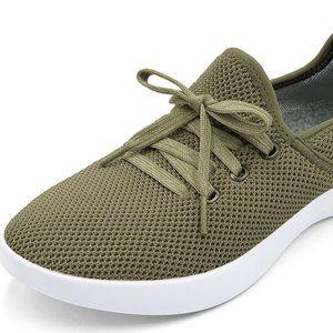 BAUBAX olive green comfort walking shoes (8)